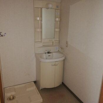 洗面台・洗濯機置き場